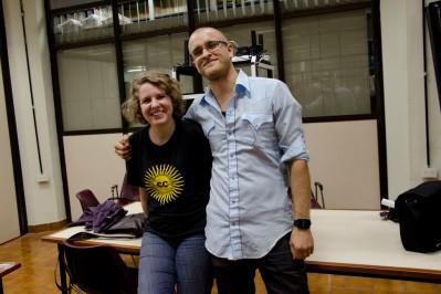 Evelin Heidel y Daniel Reetz